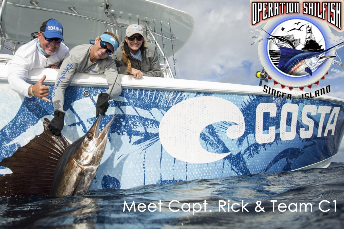 Meet capt rick team c1 operation sailfish florida for Chevy florida fishing report