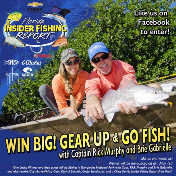 Win a trip with rick and brie to fish everglades national for Chevy florida fishing report
